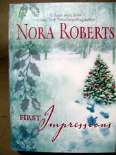 FIRST IMPRESSIONS NORA ROBERTS 1984 HARDCOVER