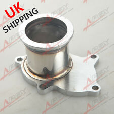 """T3/T4 Turbo 5 Bolt Exhaust Turbo Down Pipe Flange To 2.5"""" 63mm V band Adapter UK"""
