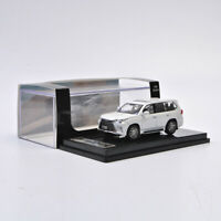 HIKASI Model 1:64 Scale LEXUS LX570 White Diecast Car Model Limited Collection