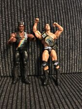 Mattel WWE Elite The Rock & Farooq Nation Of Domination Excellent Condition WWF