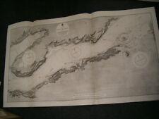 Vintage Admiralty Chart 1541 IRELAND - SHANNON - TARBERT to FOYNES 1913 edn