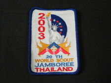 2003 World Jamboree US Contingent Blue Border Patch       c37