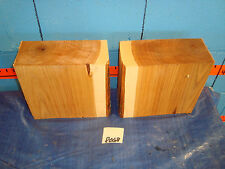 """#8068  2,  hickory turning blanks L9"""" W 8 1/2"""" T4"""""""