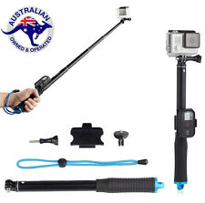 Extended Selfie Stick 93 cm Monopod with Remote Clip for Gopro Hero 5 4 3 2