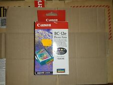 Original Canon BC-12e Color Photo Printhead Print head + ink ink for BJC-85