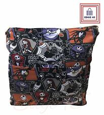 The Nightmare Before Christmas Jack Skellington Canvas Crossbody Messenger Bag