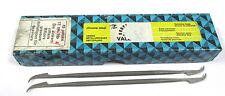 9 Grobet Swiss Vallorbe Präzisions Riffelfeilen L=170 SH-2 Nr.12857 Neu H16226