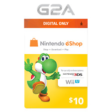 Nintendo eShop $10 Gift Card - 10 USD Nintendo Switch/3DS/WiiU Digital Key [US]