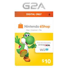 Nintendo E-Shop $10 Gaming Card