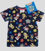 PAW PATROL SHORT SLEEVE T SHIRT AGES 1-5 YEARS BNWT