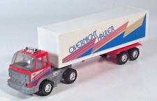 "Vintage Nylint Overnight Hauler COE Semi Box Truck 10"" Scale Model Metal Muscle"