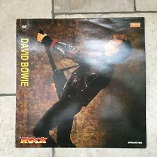 """David Bowie _ Il Rock _ Disco LP Vinile 33 giri 12"""" - 1990 De Agostini Italy NM"""