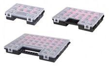 3 x Organizer Sortimentskasten Kleinteilemagazin Schraubenbox Werkzeugkasten NEU