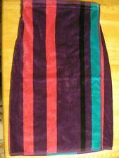 30x60 Towel Wrap Bath Terry Cloth Shower Sauna Beach Cotton Purple Teal Pink