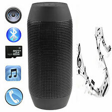 Bluetooth Sound Box Pulse Lautsprecher Wireless MP3 SD USB AUX Schwarz Neu