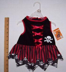 Simply Dog Pet Pirate Costume Dress XS S M L Dogs Cat Petco Halloween NWT