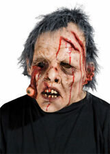 Morris Costumes Horror Eye Doo Latex Hairs Attached Bloody Mask. 7009BS