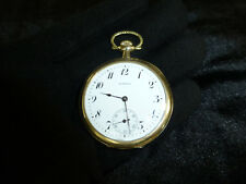 Antique E. Howard Boston Hinge Hunter Case 17 Jewel Pocket Watch Fully Serviced