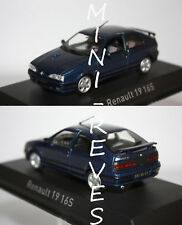 Norev Renault 19 16S 1992 Bleue 1/43 511907