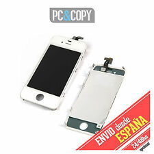 PANTALLA LCD COMPLETA +TACTIL PARA IPHONE 4 4G DIGITALIZADOR BLANCO TOUCH SCREEN