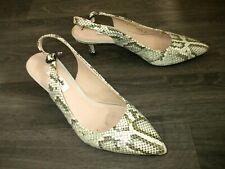 CLARKS shoes, kitten heel, size 6/39