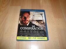 LA CONSPIRACION UN FILM DE ROBERT REDFORD EN COMBO DVD+BLU-RAY NUEVO PRECINTADO
