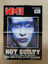 MARILYN MANSON NME COVER - PIN-UP POSTER Originally free with the NME music pape