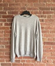 Avon Celli 100% Cashmere Men's Sweater Size 56 XL, Gray, Italy