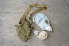 NVA Gasmaske ABC Schutzmaske russisch Gummimaske Ostblock  Prepper Gr.2  -101