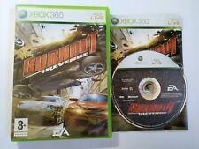 Burnout: Revenge-Xbox 360 Game-Pal-Gratuit, Rapide p&p!