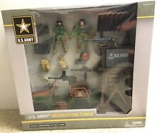 US Army Observation Tower Play Set & Figurines New In Box Officially Licensed