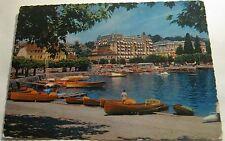 Switzerland Ouchy Lausanne Le Port et la Beau rivage Palace - 604 Jaeger - poste