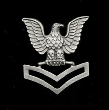 2nd CLASS PETTY OFFICER LAPEL HAT PIN US NAVY RT E5 PO2 USS CROW ENLISTED SAILOR