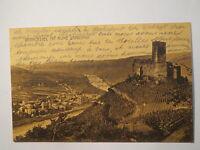Berncastel mit Ruine Landshut - 1914 / AK