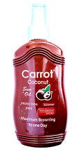 WATERMELON Carrot Sun Tan Accelerator Sunbed Spray + Henna & Watermelon Seed Oil