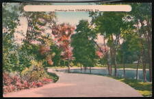 CHARLEROI PA Vintage Greeting Postcard River Road View