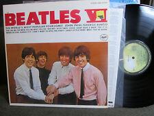 the BEATLES VI JAPAN LP gatefold stereo w/lyric sheet EAS80566 NM apple vinyl !!