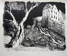 GISELA NEUMANN ( * 1943 ) Lithographie (1982)