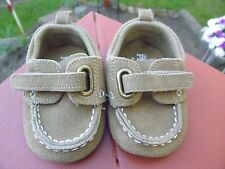 The Children's Place Infant BABY Caramel-color Faux Suede SHOES~Size 0-6 months