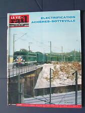 vie du rail 1966 1032 OISSEL ACHèRES MANTES SAINT PIERRE DU VAUVRAY ROSNY POISSY