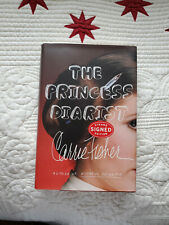 Carrie Fisher Signed Autographed Princess Diarist Hardcover First Edition Book