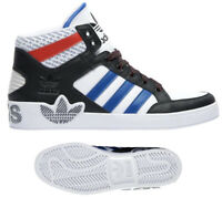 New adidas Originals  Hard Court Mens white black red blue sneaker size 10.5