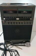 **Works Great** Optimus Karaoke Machine 32-1162 Base Unit With Microphone