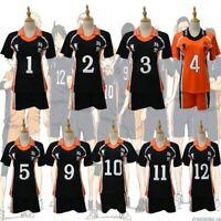 9 Styles Haikyu!! Haikyuu Cosplay Costume Karasuno Koukou High School Volleyball