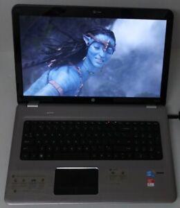 "HP 17.3"" PAVILION DV7-4080US i7 Q 720 1.60GHz 4 CORES 6.00GB RAM TWO 500GB HDS"