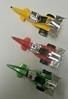 Vintage Galaxy DORS Pull Back Action DT808 Dragster Rce Car 1970'S Toy 3 Lot