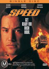 Speed NEW DVD Keanu Reeves Sandra Bullock Dennis Hopper Jeff Daniels REGION 4 AU