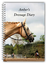 A5 PERSONALISED EQUINE HORSE & RIDER DRESSAGE COMPETITION LOGBOOK DIARY 50 PGS 4