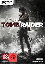 Pc Game Lara Croft Tomb Raider 2013 Uncut DVD Shipping New