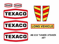 MATCHBOX SUPER KINGS K18 TANKER STICKER SET